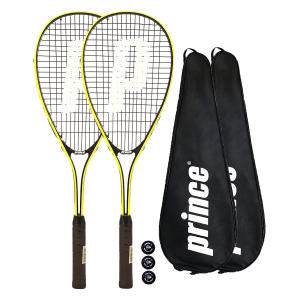 Prince 2 X Power Ti Squash Rackets