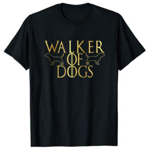 Professional Dog Walkers T Shirt