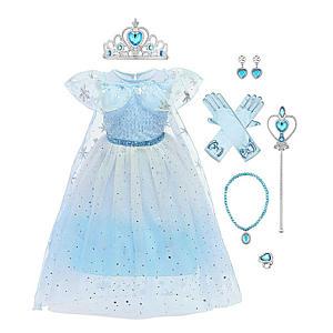 Queen Elsa Princess Costume