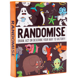 Randomise Game of Drawing, Acting and Describing