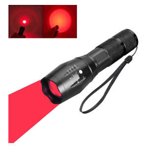 Red Light LED Torch