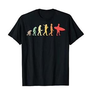 Retro Surfing Evolution T Shirt