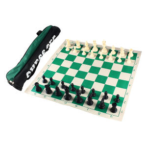 Roll-up Chess Set with Handbag