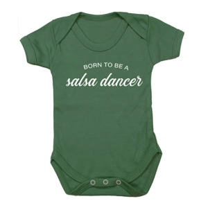 Salsa Dancer Baby Vest