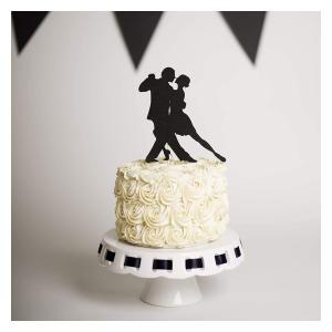 Salsa Dancing Cake Topper