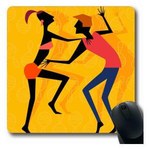 Salsa Dancing Mouse Mat