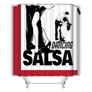 Salsa Dancing Shower Curtain