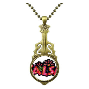 Salsa Slogan Necklace Pendant