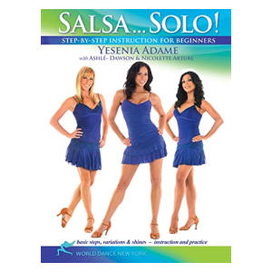 Salsa Solo DVD With Yesenia Adame