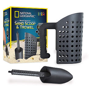 Sand Scoop Sifter and Trowel Set
