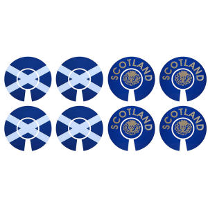 Scotland Lawn Bowls Identification Stickers