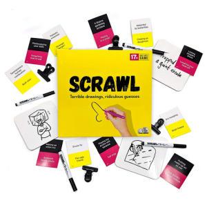 Scrawl Adult Board Game