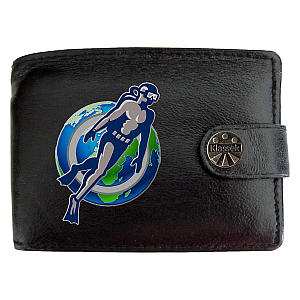 Scuba Diver Wallet