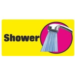 Dementia Friendly Self-adhesive Shower Sticker