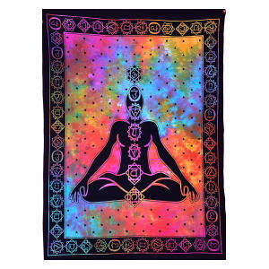 Seven Chakra Meditation Decor