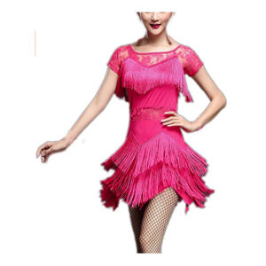 Short Sleeve Salsa Dance Wear