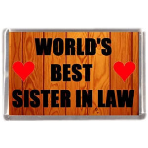 Sister in Law Fridge Magnet