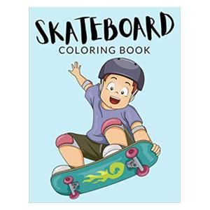 Skateboard Coloring Book