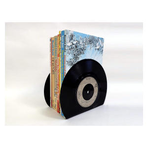 Small Vinyl Record Bookends