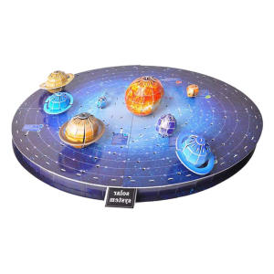 Solar System Eight Planets 3D Puzzle