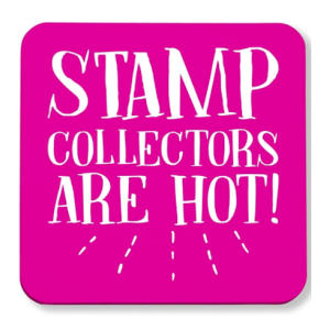 Stamp Collectors Are Hot Coasters
