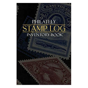 Stamps Log Inventory Book