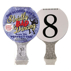 Strictly Bad Dancing Scoring Paddle