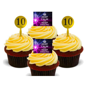 Strictly Come Dancing Edible Cupcake Toppers