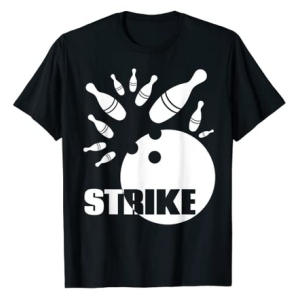 Ten Pin Bowling Strike T-Shirt