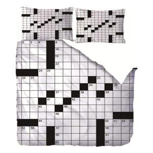 Sudoku Double Duvet Cover Set