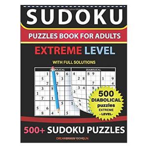 Sudoku Puzzles Book Extreme Level