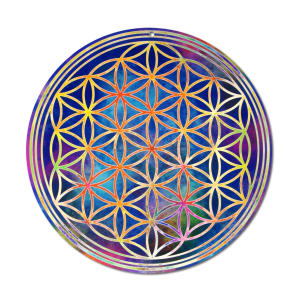 Sun Catcher Meditation Glass