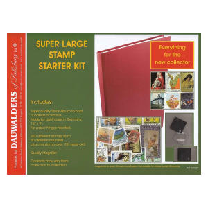 Super Large Stamp Collecting Starter Kit