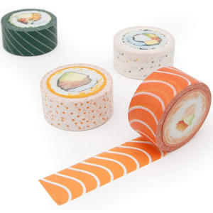Sushi Decorative Adhesive Paper
