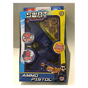 Swat Mission Ammo Pistol with 48 Caps