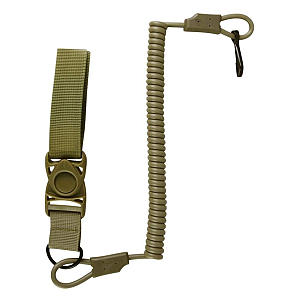 Tactical Pistol Lanyard Key Chain