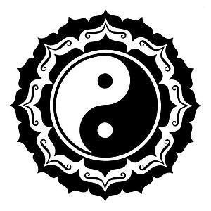 Tai Chi Chinese Style Wall Sticker