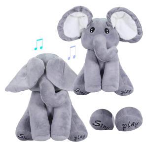 Talking Singing Elephant Plush Toy