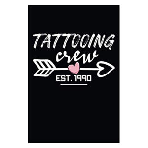 Tattooing Crew Notebook