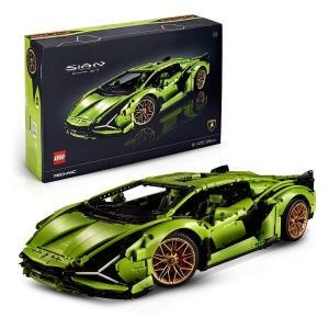 Technic Lamborghini Sián FKP 37 Race Car