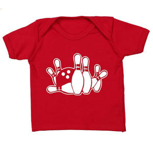 Ten Pin Bowling Baby T Shirt