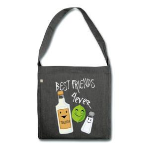 Tequila Printed Shoulder Bag