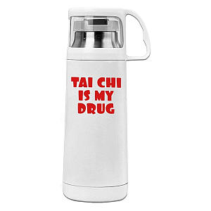 Thai Chi Is My Drug Flask