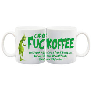 The Grinch Novelty Mug