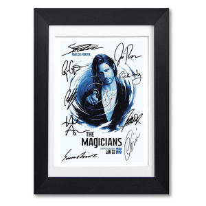 The Magicians Cast Signed Poster