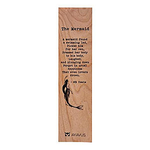 The Mermaid Poem Bookmark