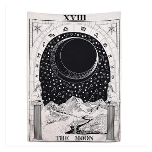 The Moon The Star and Sun Tapestry