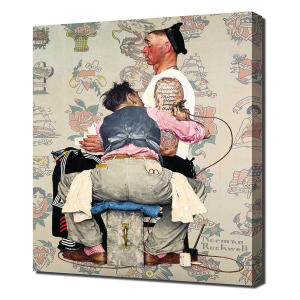 The Tattooist Canvas Print