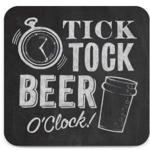 Beer Oclock Coaster