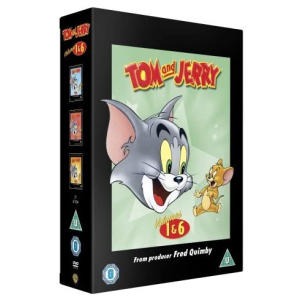 Tom And Jerry Complete Volumes 1-6 DVD